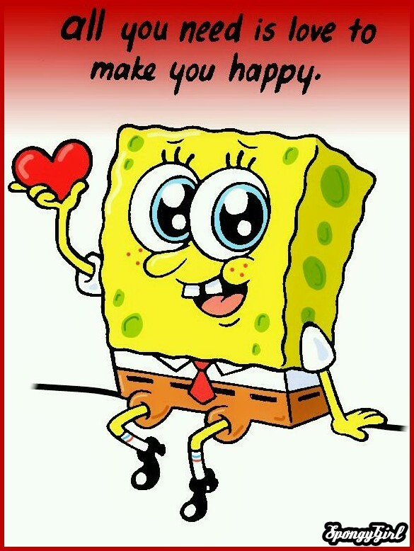 Faheem: I love sponge bob Love-spongebob-squarepants-10761214-585-778