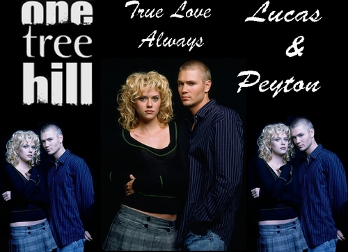 Lucas and Peyton Wallpaper