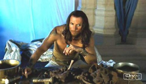 Luke Goss as King Xerxes