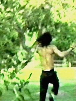 MJ After Kid's Pushed Him In The Pool ; D