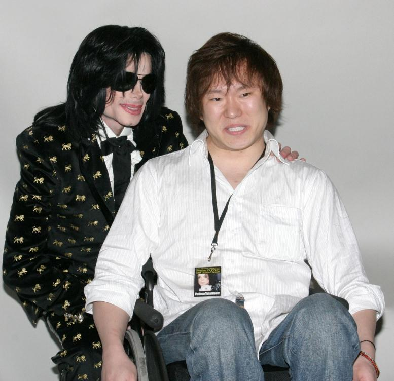 MJ And 粉丝