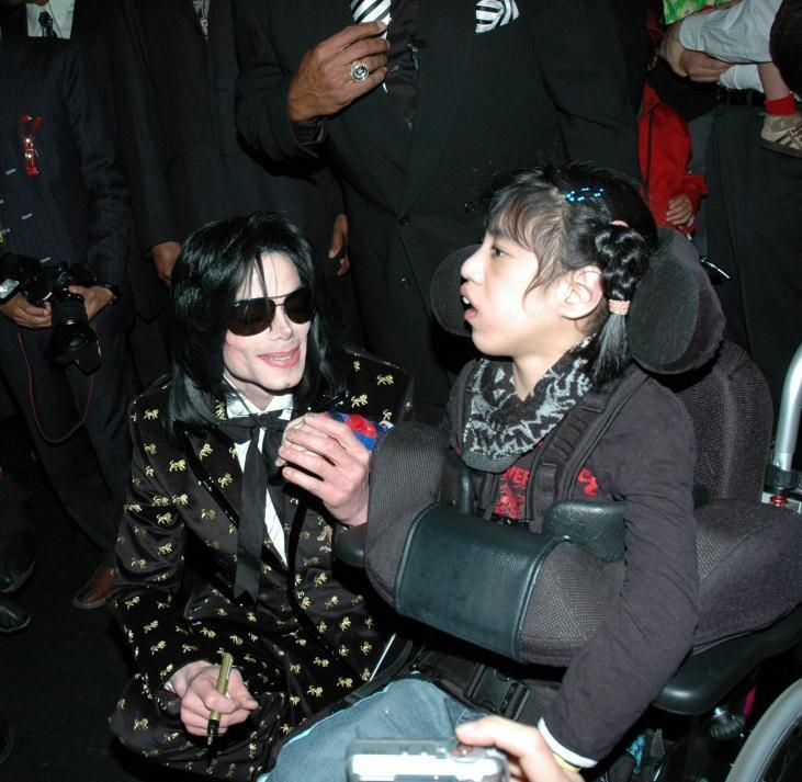 MJ And fans
