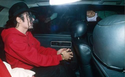 MJ In Car