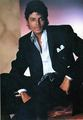 MJ Large Photo Black Suit - michael-jackson photo