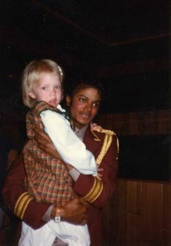 MJ/ Little Girl