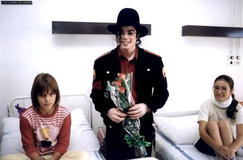 MJ and children