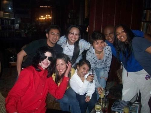 Magnificent MJ with Friends