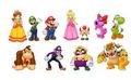 Main Mario Characters