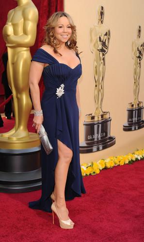 Mariah At The 2010 Oscars! Arrivals!