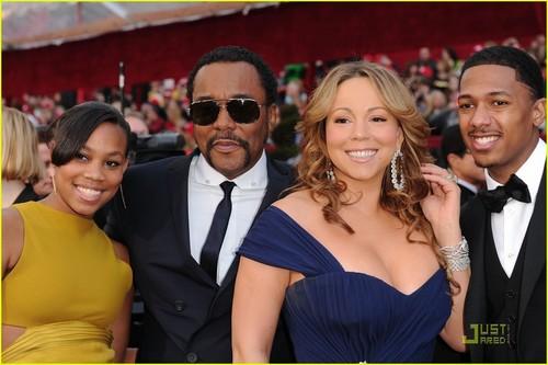 Mariah & Nick @ 2010 Oscars