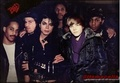 Michael Jackson and Justin Bieber - michael-jackson photo