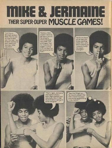 Mike And Jermaine Muscle Games : )