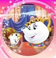 Mrs. Potts & Chip - disney-parents photo