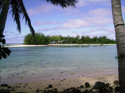 Muri beach, pwani