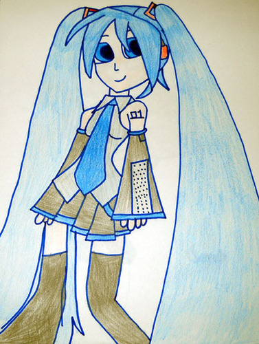My first Miku art