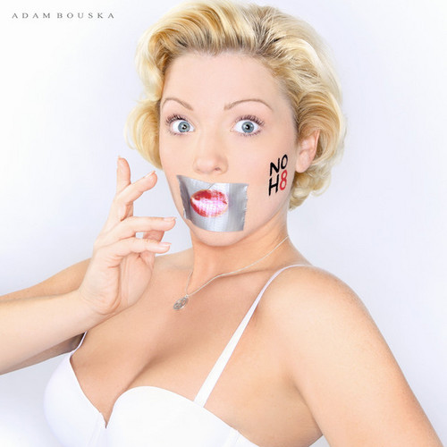LGBT wallpaper called NOH8 Campaign