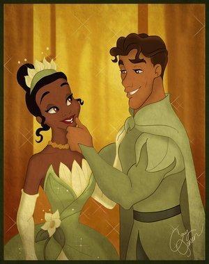 Naveen and Tiana - Disney's Couples Fan Art (10719364 ...