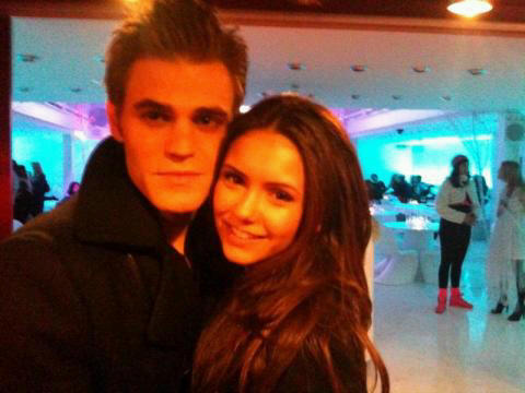 Paul Wesley and Nina Dobrev images Nina and Paul wallpaper ...