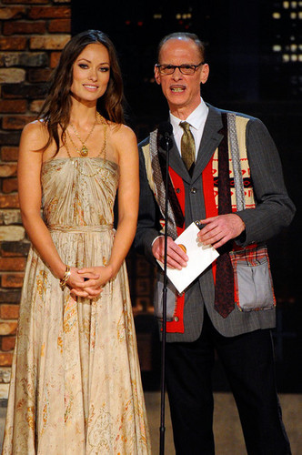 Olivia Wilde, Presenting with John Waters @ the Independent Spirit Awards 2010