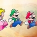 Paper Luigi and his friends - luigi icon