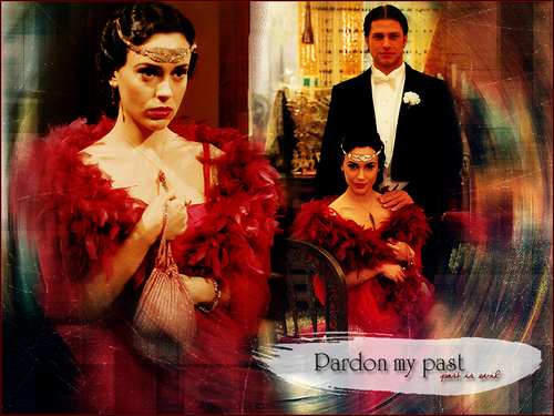 Pardon my past - past is evil (Alyssa Milano)