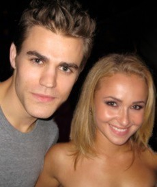 The Vampire Diaries achtergrond entitled Paul and Hayden