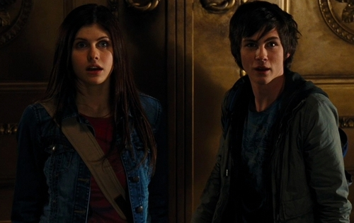 Percy Jackson And Annabeth Chase wallpaper titled Percy and Annabeth....<3