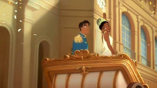 Prince Naveen and Princess Tiana