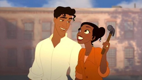 Disney Couples wallpaper called Prince Naveen and Princess Tiana