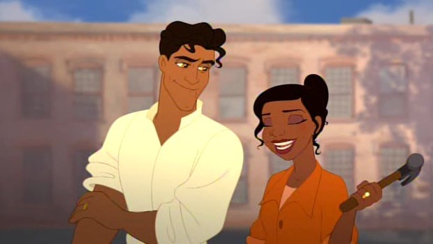 Prince Naveen and Princess Tiana