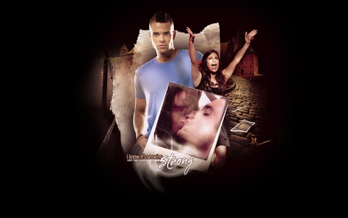Rachel and Puck  - rachel-and-puck Wallpaper