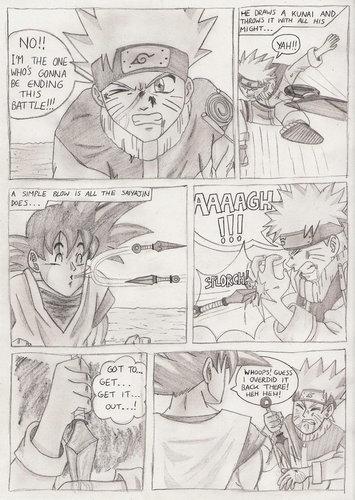 Raikagebee (DBZ) vs Bellatrixfan (Naruto)