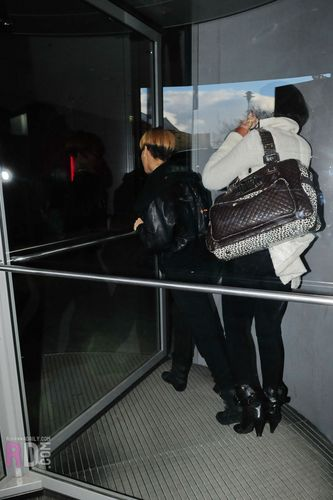 Rihanna out and about in Berlin - March 3, 2010