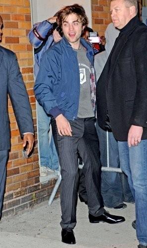 Rob Arriving & Leaving the 'Jon Stewart Show'