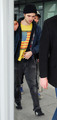 Rob Returns To The UK - Spotted at Heathrow Airport  - twilight-series photo