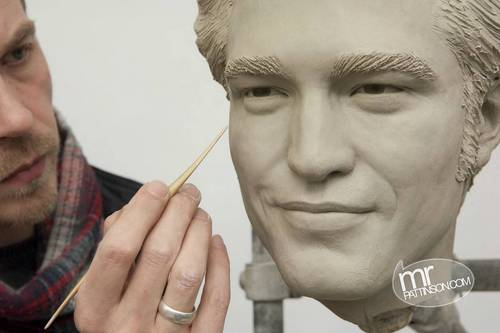 Rob's wax figure!