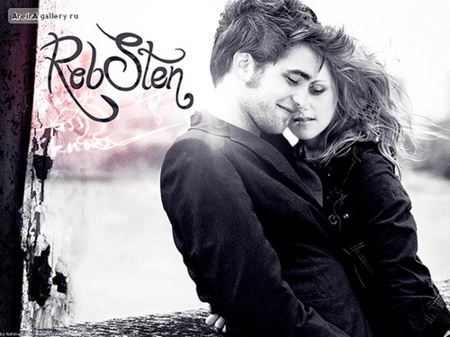 Robert Pattinson & Kristen Stewart 壁紙 entitled RobSten ♥