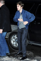 Robert Pattinson Arriving/Leaving The Daily Show - twilight-series photo