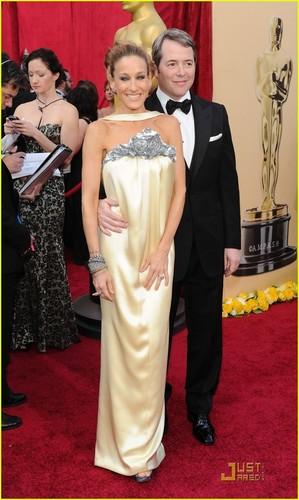 SJP & Matthew @ 2010 Oscars