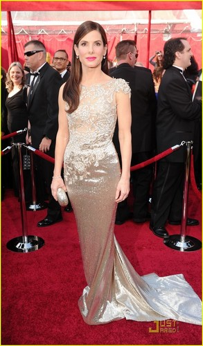 Sandra Bullock wallpaper entitled Sandra @ 2010 Oscars
