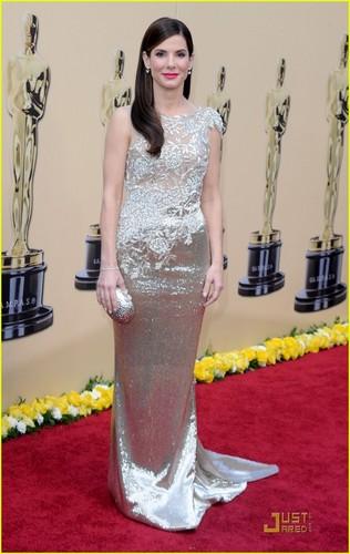 Sandra @ 2010 Oscars