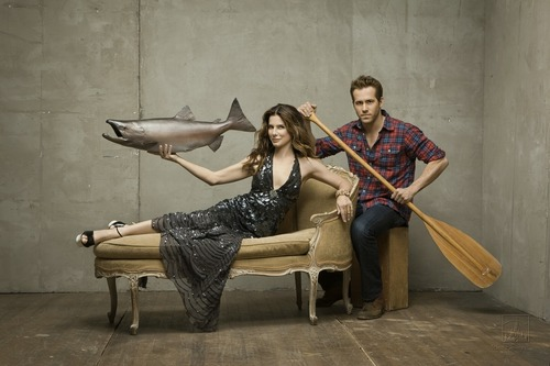 Sandra Bullock wallpaper entitled Sandra Bullock&Ryan Reynolds The Proposal' Photoshoot