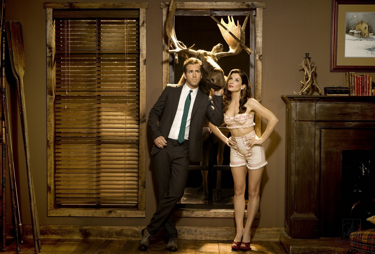Sandra Bullock&Ryan Reynolds The Proposal' Photoshoot