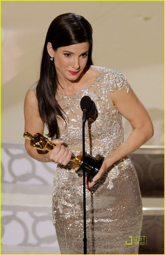 Sandra Bullock- Wins Best Actress Oscar 2010
