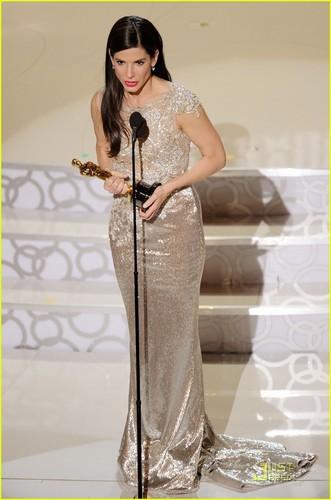 Sandra Bullock- Wins Best Actress Oscar 2010