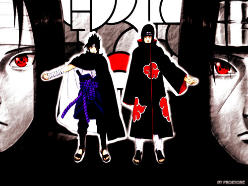 Uchihas wallpaper called Sasuke and Itachi