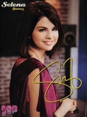 Selena on BOP April 2010