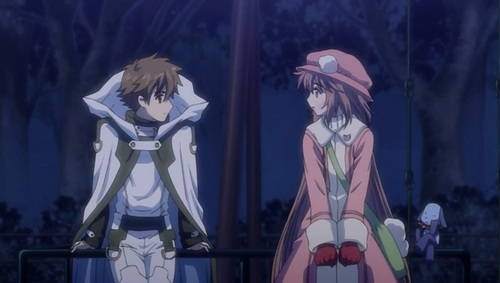 "Tsubasa: Reservoir Chronicles karatasi la kupamba ukuta titled TRC in episode 20 of ""Kobato."""