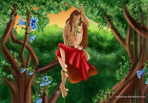 Disney's Couples Обои called Tarzan and Jane