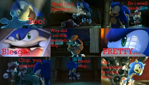 The Funny Sonic Thing I Found Online!